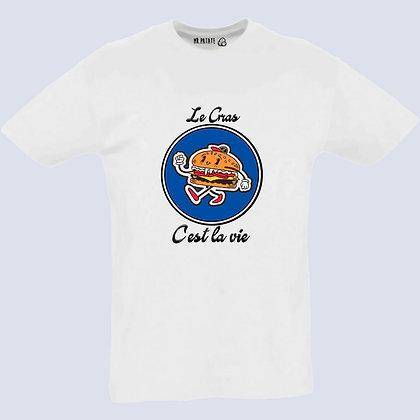 T-Shirt Unisexe Le gras c'est la vie