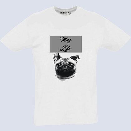 T-Shirt Unisexe Chien bouledogue français thug life