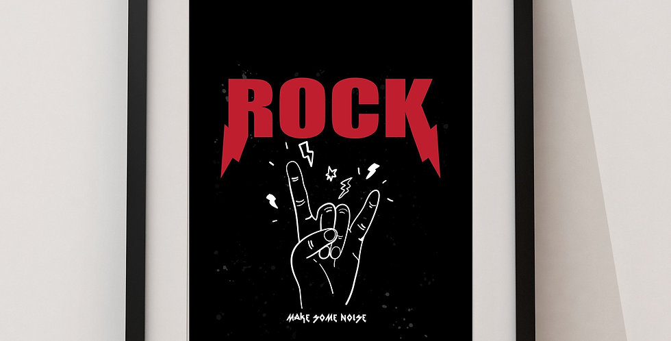 Affiche Rock 16