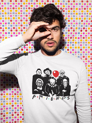 Sweat Pull Over Friends personne horreur