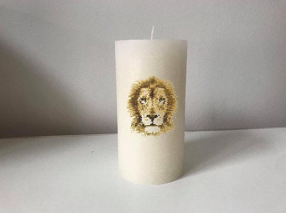 Bougie Personnalisée Nany Candle lion