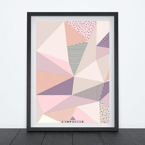 Affiche figure triangulaire