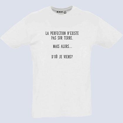 T-Shirt Unisexe La perfection n'existe pas