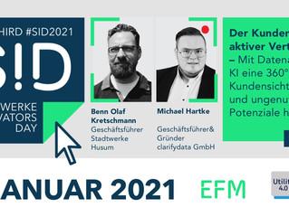Stadtwerke Innovators Day 2021 #SID2021 - Ankündigung