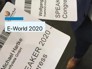 E-World 2020: Die Highlights der Messe - 20 Jahre E-World, davon 3 Jahre mit clarifydata