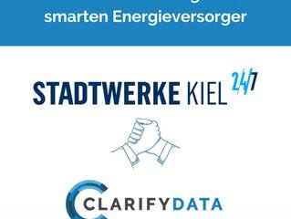 Stadtwerke Kiel nutzt KI-basierte Lösungen von CLARIFYDATA