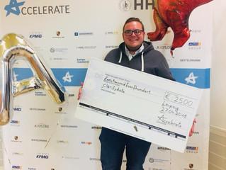 clarifydata gewinnt elevator pitch contest der Accelerate Konferenz in Leipzig