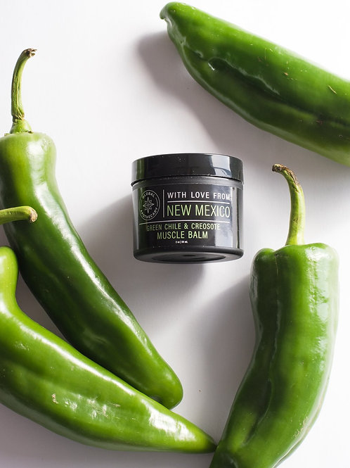 Green Chile & Creosote Muscle Balm