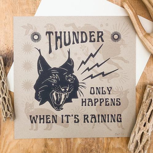 Thunder Only Happens When It's Raining