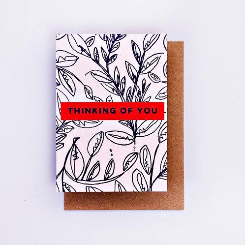 Botanic Thinking of You Card