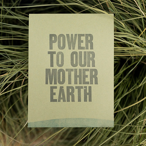 Power to Mother Earth