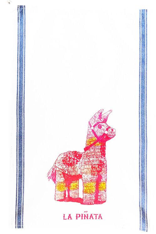 Loteria Inspired Tea Towels - La Piñata