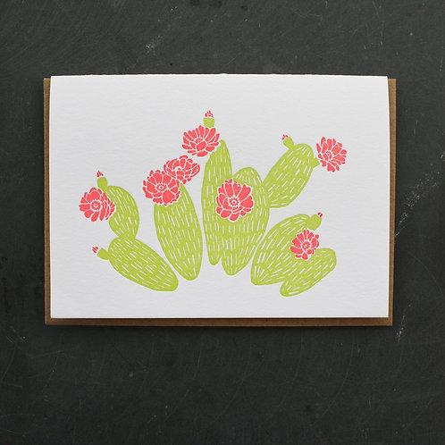 Prickly Pear Card