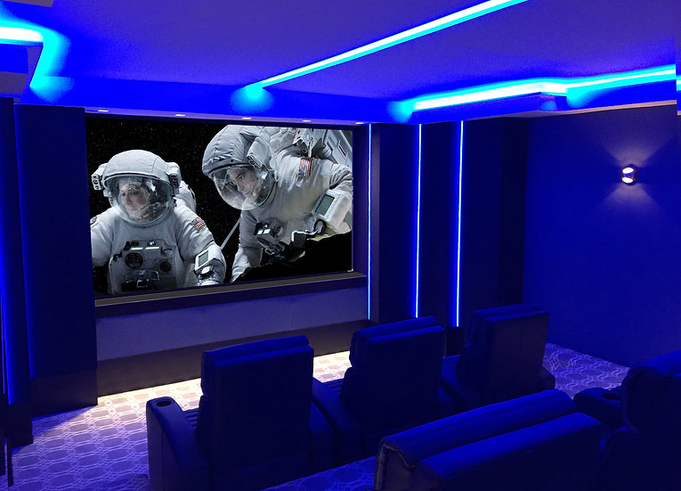 Custom Home Theater Design - Immersa