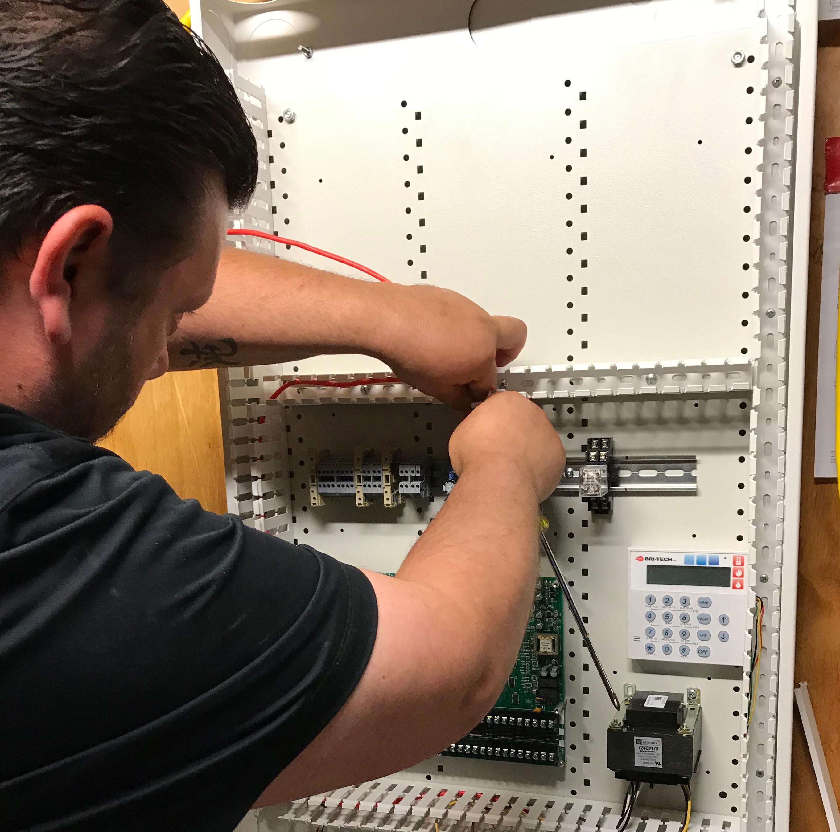Technician On-Site