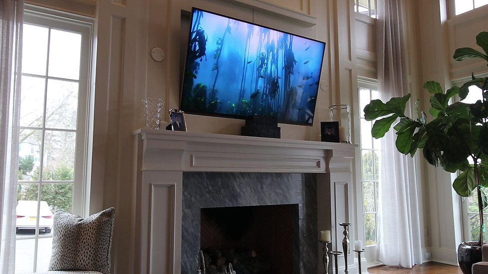 TV Over Fireplace Installations