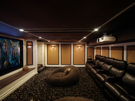 Basement Conversion to Home Theater