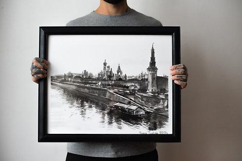 """""""Речной Трамвайчик"""". Москва."""