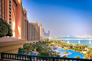 Atlantis The Palm Hotel View