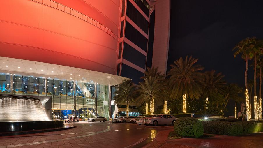Burj Al Arab Hotel Cars
