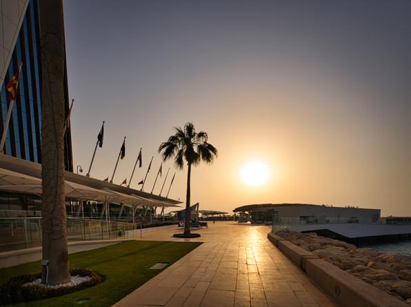 Burj Al Arab Dubai Sunset