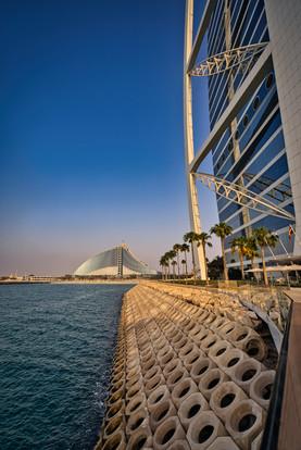 Burj Al Arab view Jumairah Beach Hotel