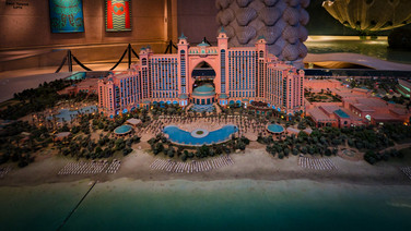 Atlantis The Palm - Modell