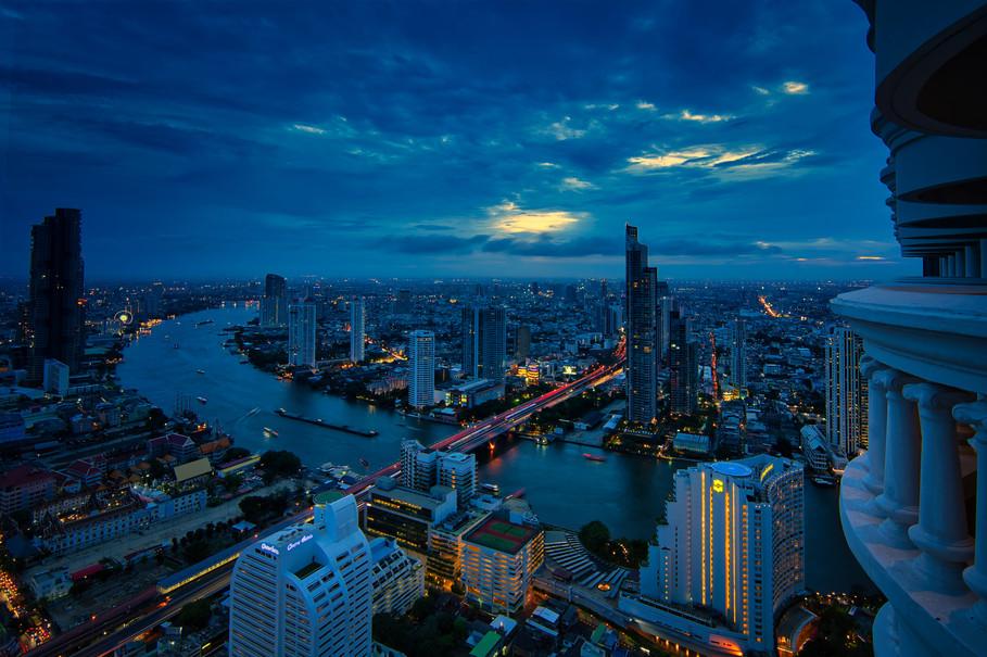 Bangkok Skyline Nights Lebua Hotel