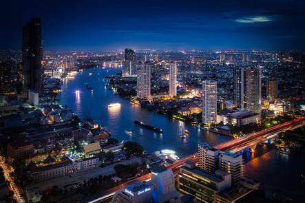 Bangkok Skyline Nights