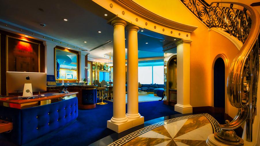 Burj Al Arab Hotel Room
