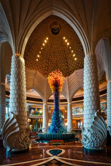 Atlantis Hotel Empfang Dubai