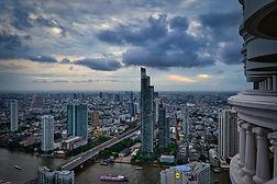 Bangkok Skyline from Lebua at state Tower