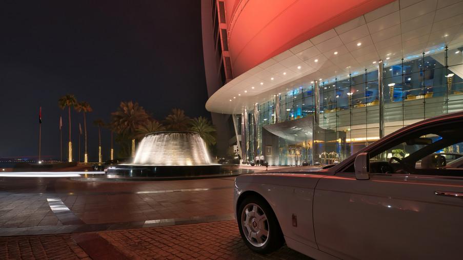 Burj Al Arab Cars Nights