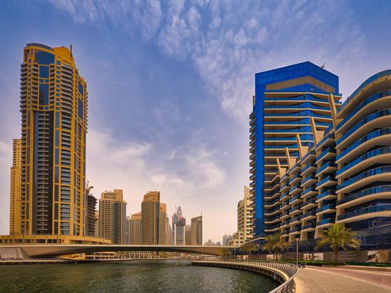 Dubai Marina Walk Promenade VAE