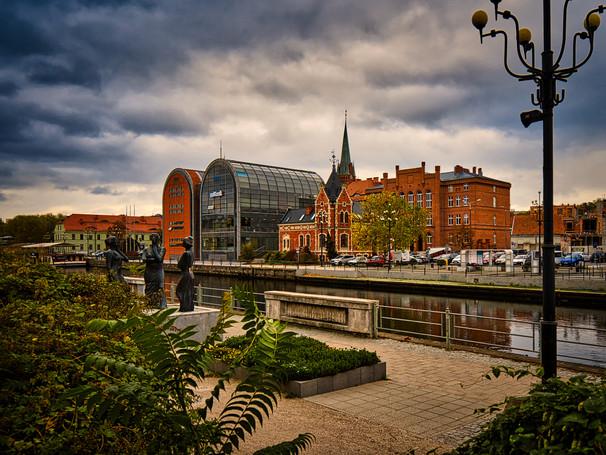 """Bydgoszcz  -""""Trzy Gracje"""" and Lioyd Palace"""