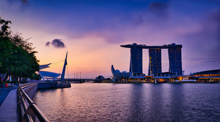 Singapore Marina Bay Sands Sunrise