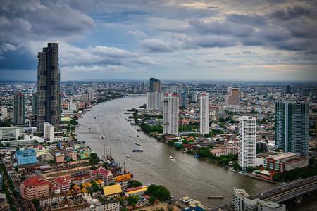 Bangkok Skyline from Lebua Hotel