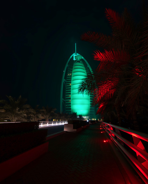 Burj Al Arab Nights