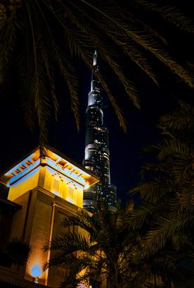 Dubai Burj Khalifa Nights