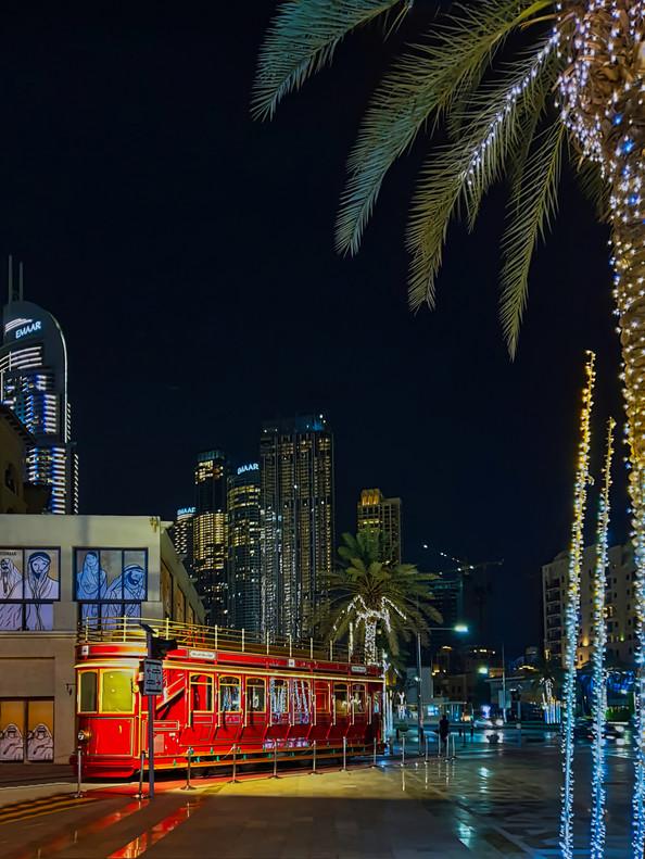 Dubai Streets Night