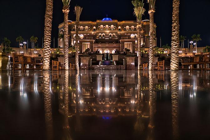 Emirates Palace Hotel Abu Dhabi UAE VAE The Best Hotel in the World