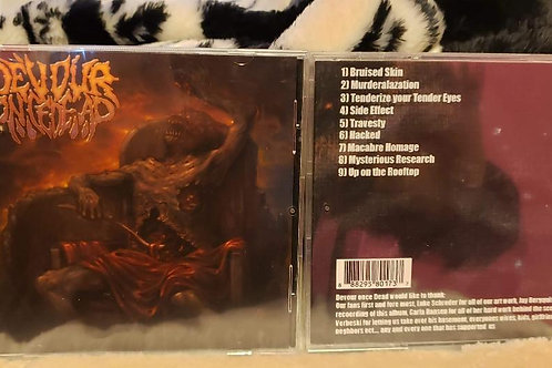 Devour Once Dead Cd