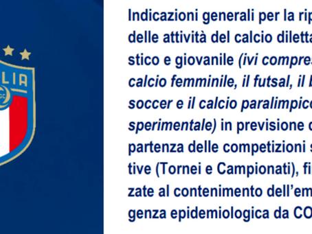 PROTOCOLLO F.I.G.C. E GESTIONE DEI SOGGETTI POSITIVI (con note al C.U. del C.R.E.R. del 7.10.2020)