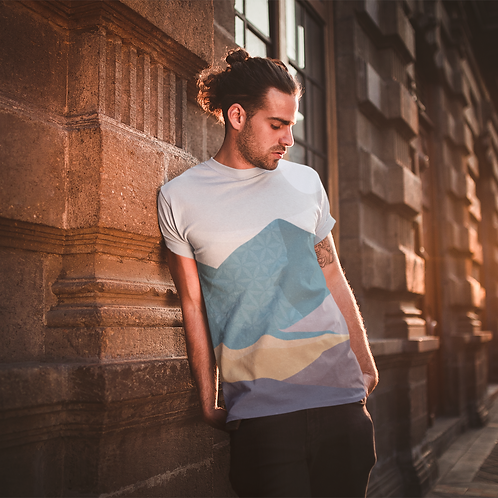 Minimal Graphic Printed Super Dry Active Tee by Hyparocks