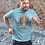Thumbnail: Viking Warrior Graphics Printed Super Dry T shirt by Hyparocks