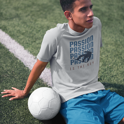 Passion Is The Key Super Dry Sports Tee by Hyparocks