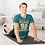 Thumbnail: Life Style 92 Graphic Printed Workout Tee by Hyparocks