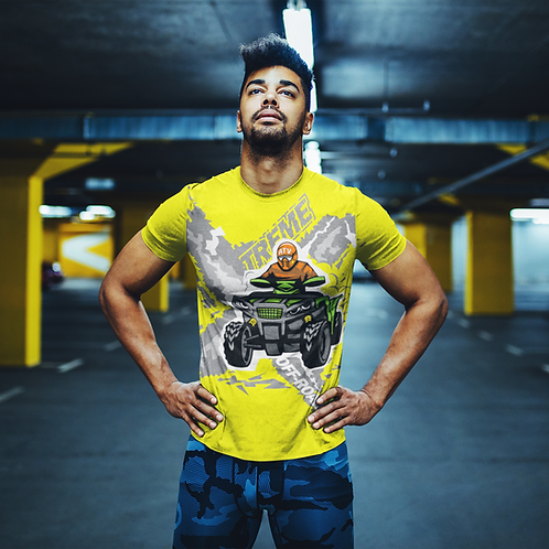 Xtreme Off-road Printed Super Dry Sports Tee by Hyparocks