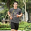 Thumbnail: Angry Chimpanzee Face Printed Super Dry Sports Tee by Hyparocks