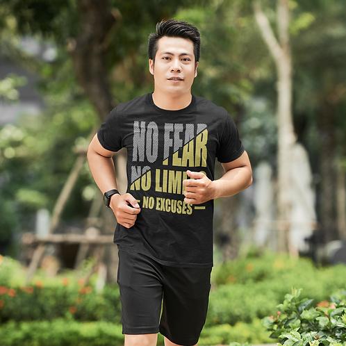 No Fear No Limit Super Dry Active T Shirt by Hyparocks